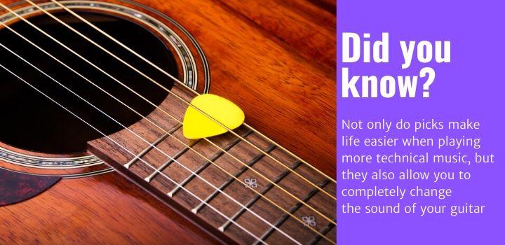 best acoustic guitar picks facts
