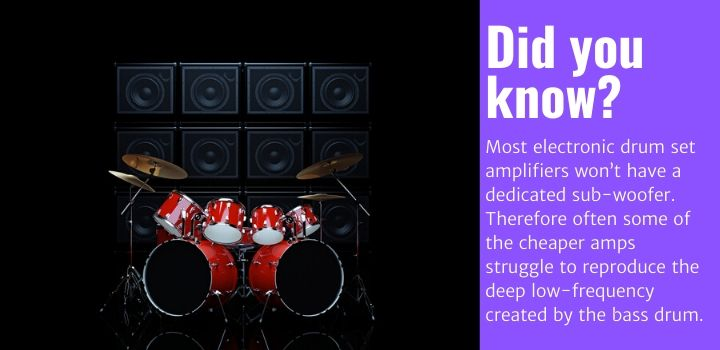 best electronic drum amps facts