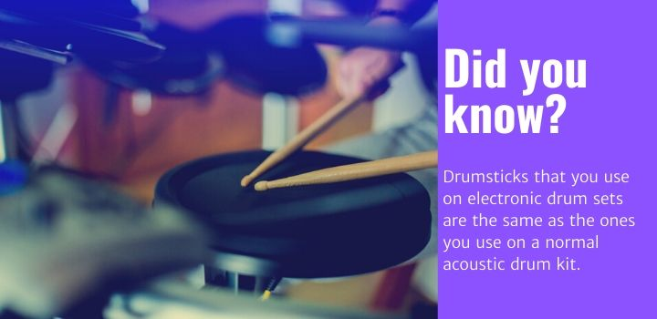 best electronic drum drumsticks facts