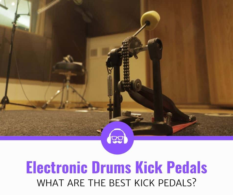 top best kick pedals for electronic drums review