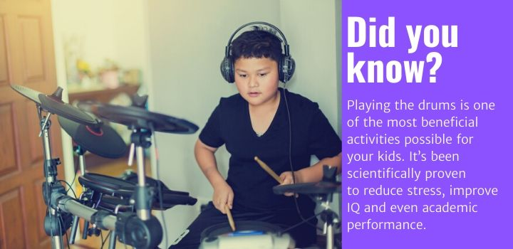 Best Electronic Drums For Kids Facts