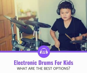Top Best Electronic Drums For Kids Review