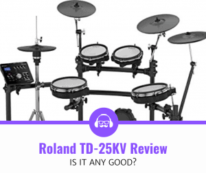 Roland TD-25KV Drum Kit Review (Is It Any Good?)